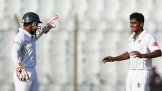 Sri Lanka 50-1 against Bangladesh at tea, Day 2, 1st Test