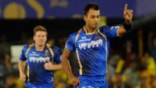 Sunrisers Hyderabad vs Rajasthan Royals Live Cricket Score IPL 2015: Match 11 at Visakhapatnam