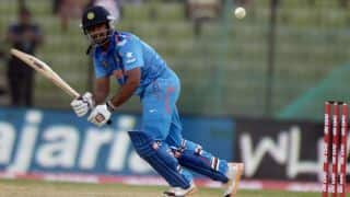 India fight back to post competitive 245/8 against Pakistan in Asia Cup 2014