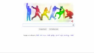 ICC Cricket World Cup 2015: Google unveils Doodle to mark the beginning of mega event