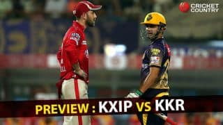 KXIP vs KKR, IPL 2017, match 49: Both teams race against time to qualify for playoffs