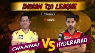 CSK vs SRH, IPL 2019 LIVE Updates: Can Sunrisers clinch hat-trick in Bairstow's final game?
