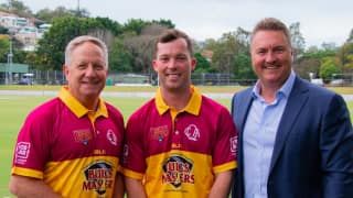 Marsh One-Day Cup: Queensland Bulls unveil retro kit to commemorate 30 years since Allan Border-led title