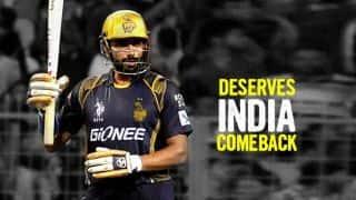 Robin Uthappa deserves a longer run in Indian team