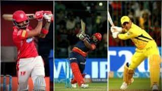 IPL 2018: छक्के जड़ने में भारतीय बल्लेबाज सबसे आगे, डिविलियर्स पिछड़े