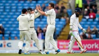 England bowled out for 350 against New Zealand in 2nd Test at Headingley