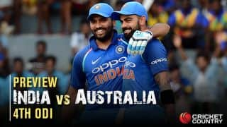 IND vs AUS, 4th ODI preview and likely XIs: Will Kohli bench himself to let Rohit lead?