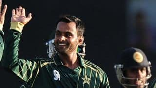 Mohammad Hafeez surprised at being reported for suspect action during CLT20 2014