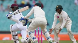 West Indies falter with bat to reach 207/6 at stumps on Day 1 of 3rd Test vs Australia