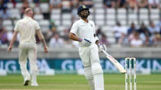 India vs England, 1st Test, Day 2 tea: Kohli fights to take India to 160/6