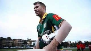 David Warner leaves club cricket innings midway after sledge
