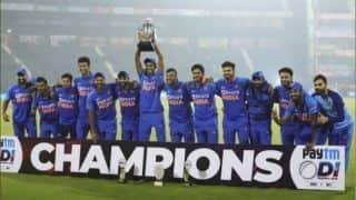 भारत ने विंडीज के खिलाफ लगातार 10वीं द्विपक्षीय सीरीज जीती
