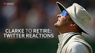 Michael Clarke to retire after Ashes 2015: Twitter Reactions
