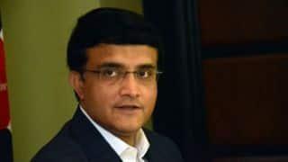 Anonymous letter irks CAB president Sourav Ganguly