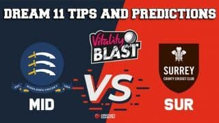Dream11 Team Middlesex vs Surrey South Group VITALITY T20 BLAST ENGLISH T20 BLAST – Cricket Prediction Tips For Today's T20 Match MID vs SUR at London
