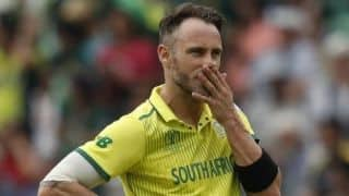 Cricket World Cup 2019: The biggest downside is we are not doing ourselves justice as a team: Faf du Plessis