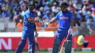 We always back Dhoni, he has won so many games: Virat Kohli