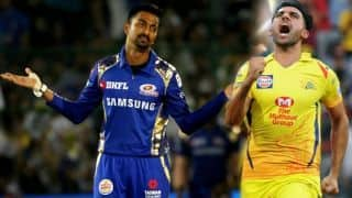Deepak Chahar and krunal pandya introduction in front of coach Ravi Shastri