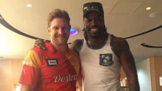 Chris Gayle, Shane Watson bury hatchet; as they prepare to play for RCB in IPL 9