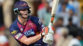 Ajinkya Rahane, Steven Smith take RPS past 50 in Rising Pune Supergiants vs Gujarat Lions, IPL 2016 Match 25