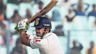 Gautam Gambhir, Virender Sehwag key as Delhi need 327 more runs to win against Punjab