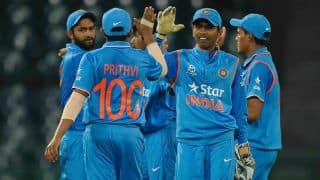 India U-19 clinch Asia Cup 2016 with 34-run victory over Sri Lanka