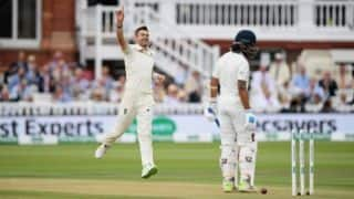 James Anderson equals Anil Kumble; becomes 2nd bowler to take most Test wickets at Home
