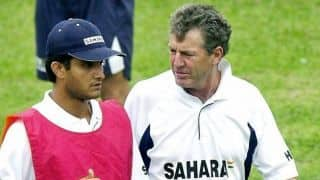We have a great relationship, we're genuine friends: Ganguly on Wright