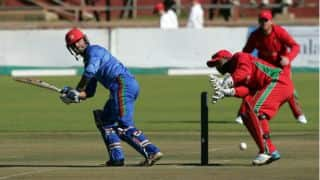 Zimbabwe vs Afghanistan 2014, 1st ODI at Bulawayo: Afghanistan set target of 224