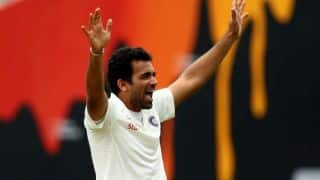 Zaheer Khan says momentum in India's favour
