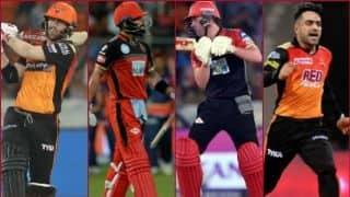 हैदराबाद-बैंगलोर मैच में वार्नर पर नजर, जीत की तलाश में कोहली