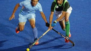 India vs Pakistan Hockey Champions Trophy 2014 semi-final 2: Both teams tied at 1-1 after 2nd quarter