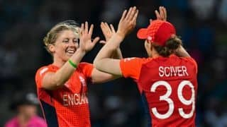 ICC Women's World Cup, semi-final: India crash to 112 against England