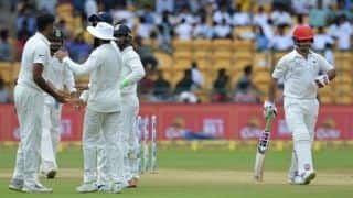 In photos: India vs Afghanistan Test, Day Two