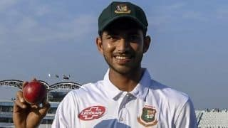 Bangladesh's Nayeem Hasan becomes  the youngest ever player to take five wickets on debut