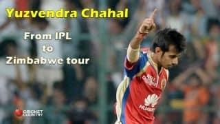 Yuzvendra Chahal thanks Virat Kohli after Team India selection