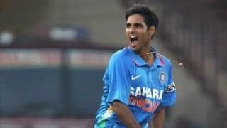 Bhuvneshwar Kumar excited to celebrate first Holi after marriage with wife Nupur
