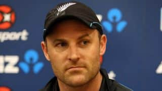 Brendon McCullum ends speculations, will continue to lead New Zealand