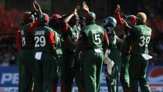Kenya arrive in Pakistan for limited-overs series