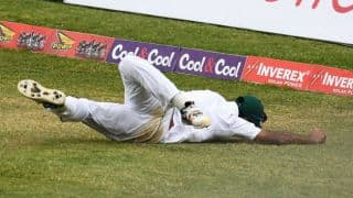 WATCH: Wahab Riaz's extraordinary catch against West Indies in 1st Test