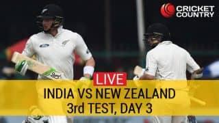 भारत बनाम न्यूजीलैंड तीसरा टेस्ट: तीसरे दिन का खेल खत्म, भारत 18-0