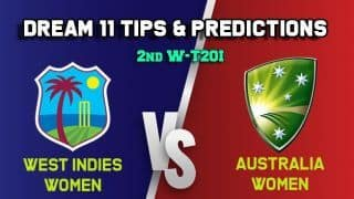 WI-W vs AU-W Dream11 Team West Indies Women vs Australia Women, 2nd T20I, Australia Women tour of West Indies 2019 – Cricket Prediction Tips For Today's Match WI-W vs AU-W at Kensington Oval, Barbados
