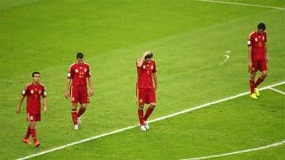 Spain will leave FIFA World Cup 2014 with 'great sorrow'