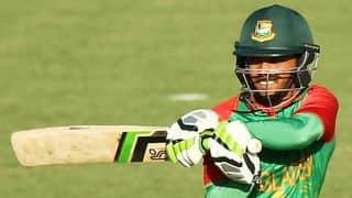 Rahim completes 22nd ODI fifty during BAN-PAK 2nd ODI at Mirpur