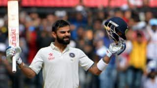 भारत बनाम इंग्लैंड पहला टेस्ट:  इंग्लैंड के 100 रन पूरे. हमीद ने जड़ा अर्धशतक