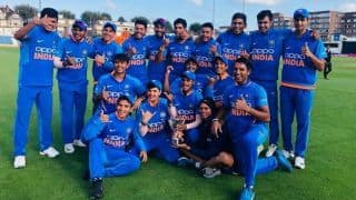 Skipper Priyam Garg leads from the front as India Under-19 beat Bangladesh Under-19 to win tri-series
