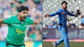 Two hat-tricks in a day: Rashid Khan,Haris Rauf takes Hat-tricks in Big Bash League