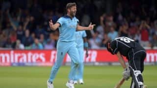 From winning the World Cup to watching Netflix at home, Liam Plunkett experiences a sudden drop