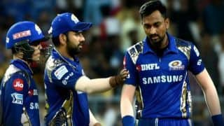 IPL 2018: 3 time IPL champion Mumbai Indian will be out if they lose today