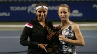 Sania Mirza and Prarthana Thombare made it to the quarters